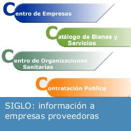 Información a empresas proveedoras: SIGLO