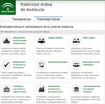 Portal de la Transparencia de la Junta de Andalucía