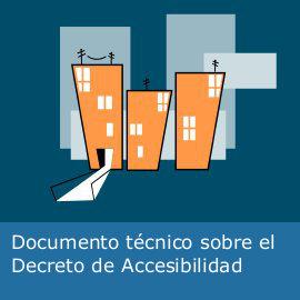Documento técnico sobre el Decreto de Accesibilidad
