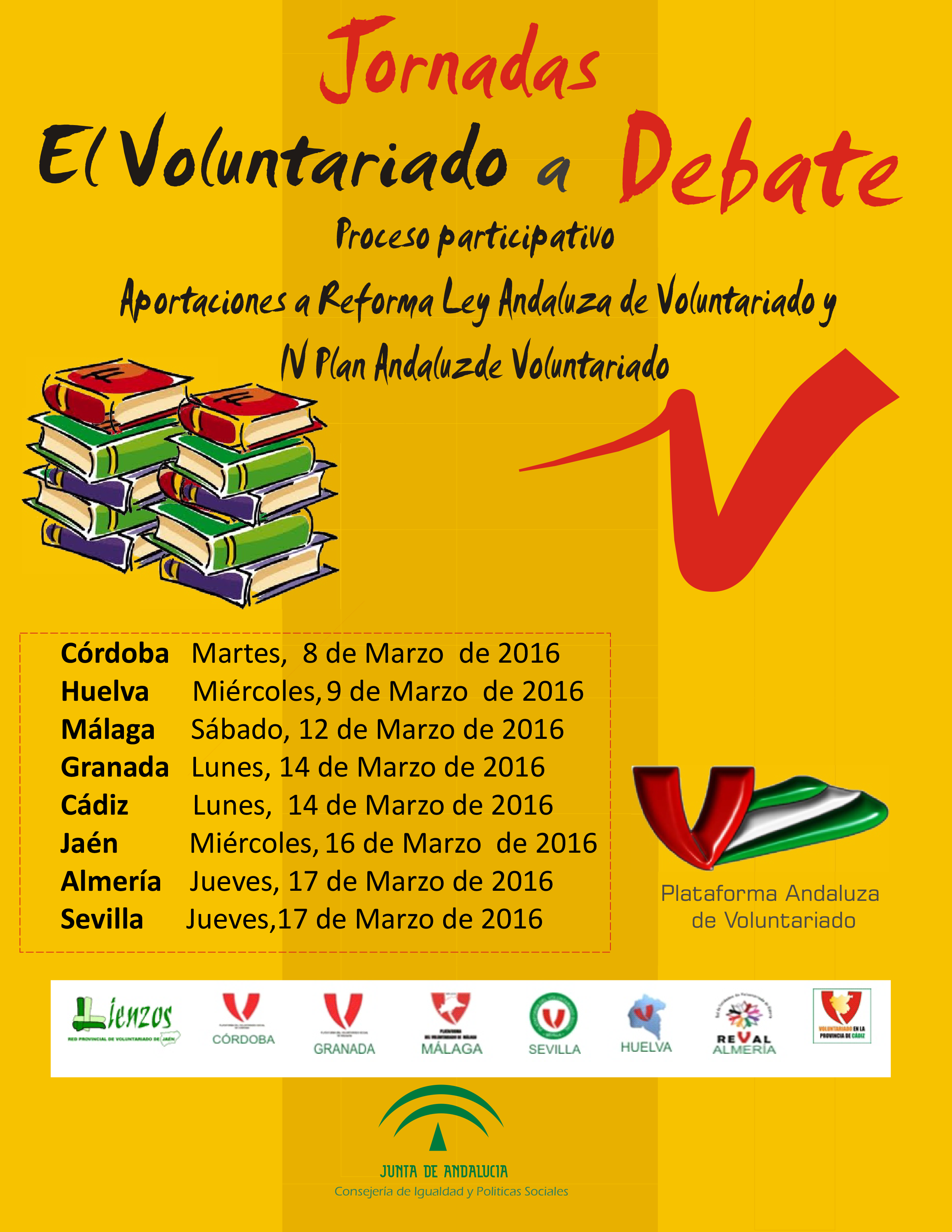 "Jornadas ""El voluntariado a debate"""