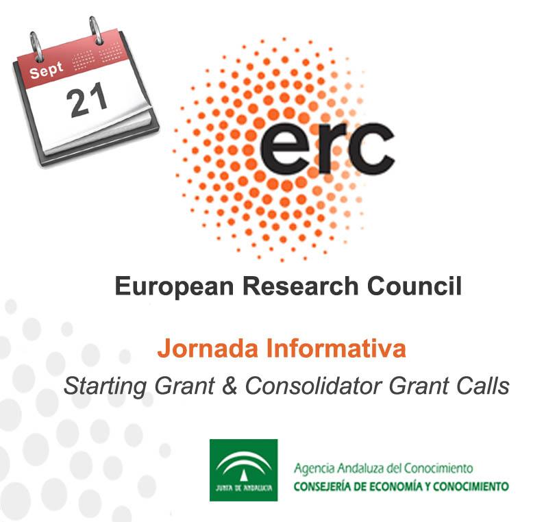 Seminario de preparación de propuestas ERC: Starting Grant y Consolidator Grant