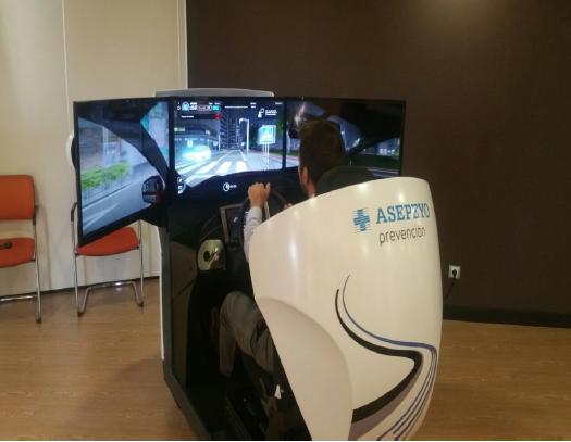 Jornada técnica 'La Seguridad vial: Conducción en simuladores de alta inmersión'