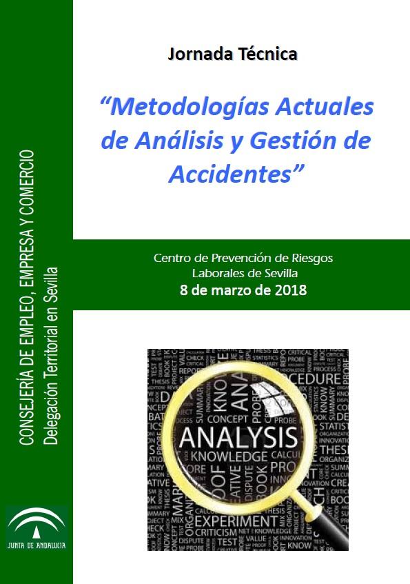 Jornada técnica 'Metodologías Actuales de Análisis y Gestión de Accidentes'
