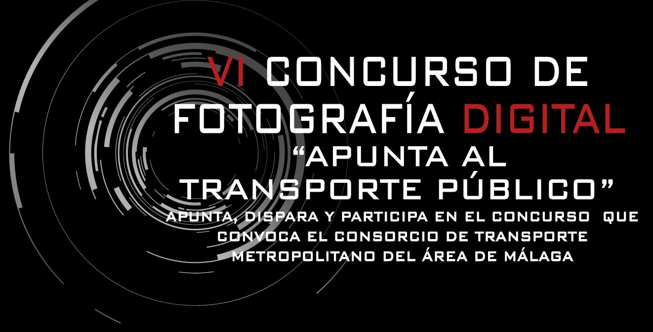 """El Consorcio de Transporte de Málaga convoca el VI Concurso de Fotografía digital """"Apunta al Transporte Público"""""""