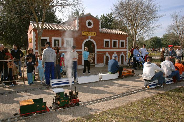 El Ferrocarril del Alamillo. Viajes en un tren en miniatura
