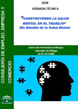 Jornada técnica 'Contruyendo la salud mental en el trabajo'. Día Mundial de la Salud Mental