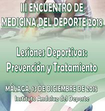III Encuentro de Medicina del Deporte