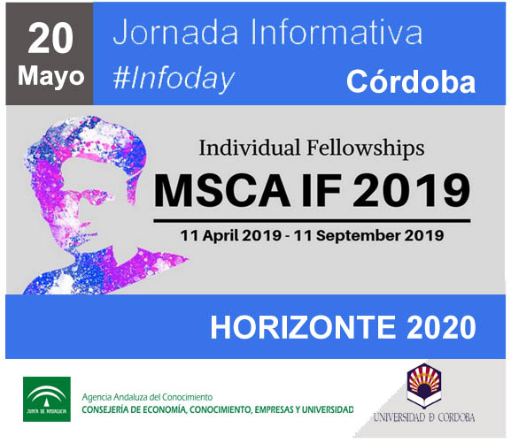 Jornada informativa sobre el Programa Marie Sklodowska Curie - Acciones Individuales IF en el marco de Horizonte 2020