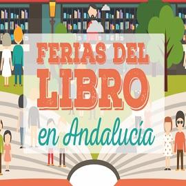 Ferias del Libro en Andalucía durante la primavera