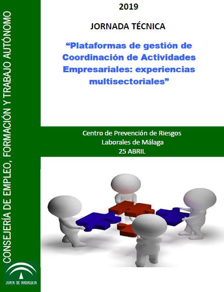 """Jornada técnica: """"Plataformas de gestión de Coordinación de Actividades Empresariales: experiencias multisectoriales"""""""
