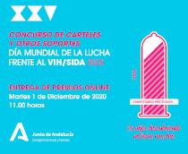 """XXV edición del """"Concurso de carteles y otros soportes"""". Día mundial de la lucha frente al VIH/SIDA 2020"""