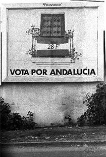 Cartel electoral 28F