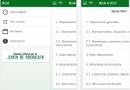 Captura de pantalla de la aplicación BOJA Boletín Oficial Andalucía 1