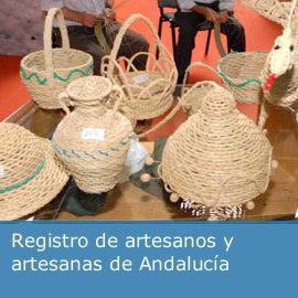 Registro de artesanos y artesanas de Andalucía