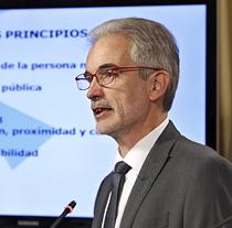 Aquilino Alonso, consejero de Salud.