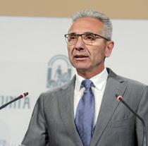 Miguel Ángel Vázquez, portavoz del Gobierno de la Junta