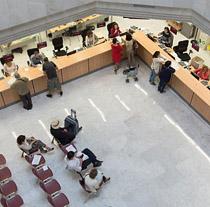 Atención al público en dependencias de la Junta de Andalucía