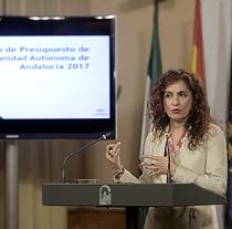 María Jesús Montero, consejera de Hacienda y Administración Pública.