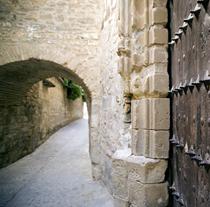 calles del entorno de la catedral de baeza