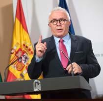 José Sánchez Maldonado, consejero de Empleo, Empresa y Comercio