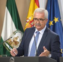Manuel Jiménez Barrios, vicepresidente de la Junta de Andalucía.