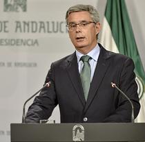 Juan Carlos Blanco, portavoz del Gobierno de Andalucía.