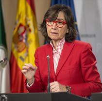 Rosa Aguilar, consejera de Justicia e Interior