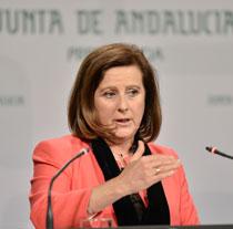 María José Sánchez Rubio, consejera de Igualdad y Políticas Sociales
