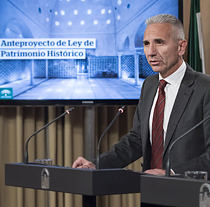 Miguel Ángel Vázquez, consejero de Cultura