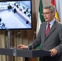 Juan Carlos Blanco, portavoz del Gobierno andaluz