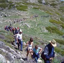 Senderismo en Sierra Mágina