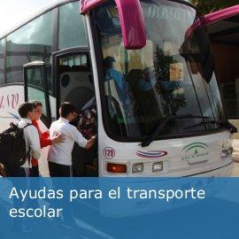 Ayudas transporte escolar