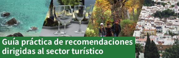Andalucía Segura. Guía práctica de recomendaciones diriguida al sector turístico (pdf)