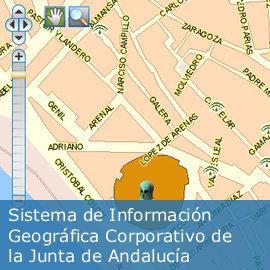 Sistema de Información Geográfica Corporativo de la Junta de Andalucía