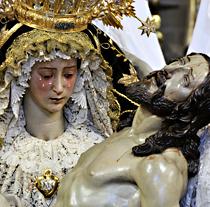 La imagen de la Virgen es la única Dolorosa de Juan de Mesa perfectamente docume