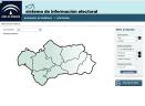 Captura de pantalla de la aplicación Sistema de información electoral 1