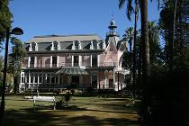 Visita los jardines de la Casa Rosa