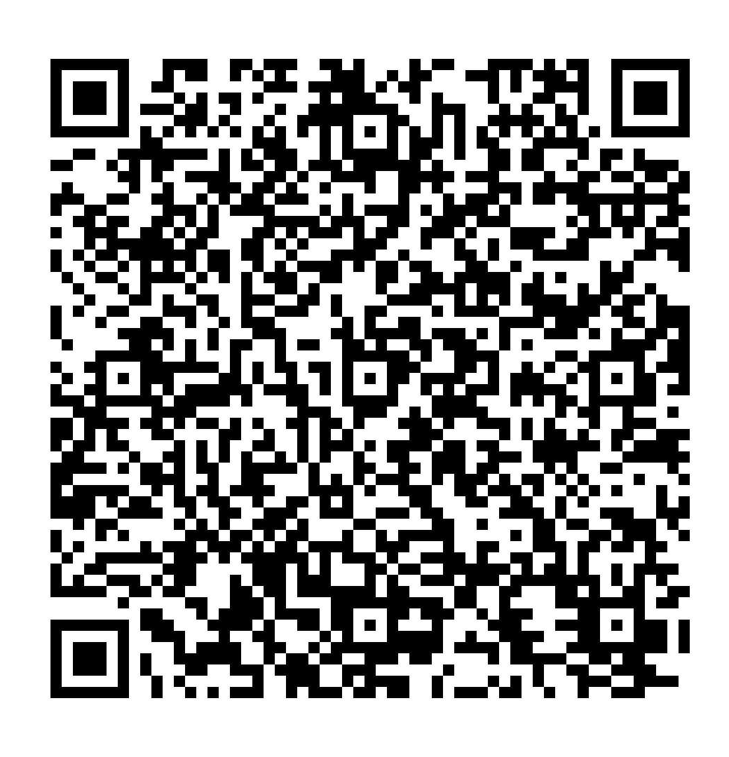 Código QR para la solicitud de cita previa en oficinas de asistencia en materia de registros
