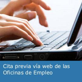 Te damos la bienvenida al servicio de cita previa de las oficinas de empleo de Andalucía