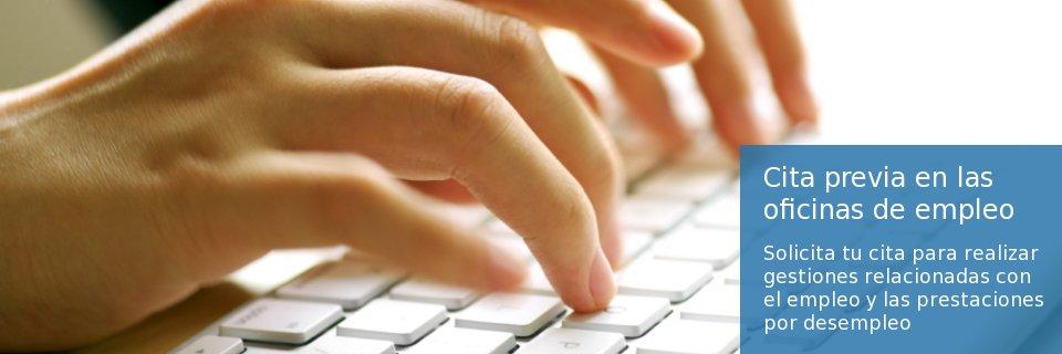 Cita Previa vía web de las Oficinas de Empleo de Andalucía