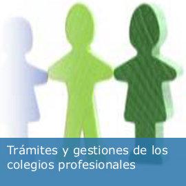Colegios profesionales: trámites y gestiones