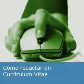 Cómo redactar un Currículum Vitae