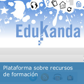 Plataforma sobre recursos de formación: Edukanda