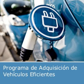 Programa de Adquisición de Vehículos Eficientes