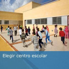 Elegir centro escolar