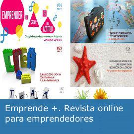 "Revista online para emprendedores: ""Emprende +"""