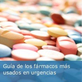Guía de los fármacos más usados en urgencias