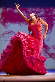 Fotografía del Ballet Flamenco de Andalucía (del autor Luis Castilla)