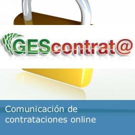 Comunicación de contrataciones online
