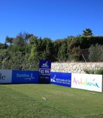 Imagen decorativa, campo de golf